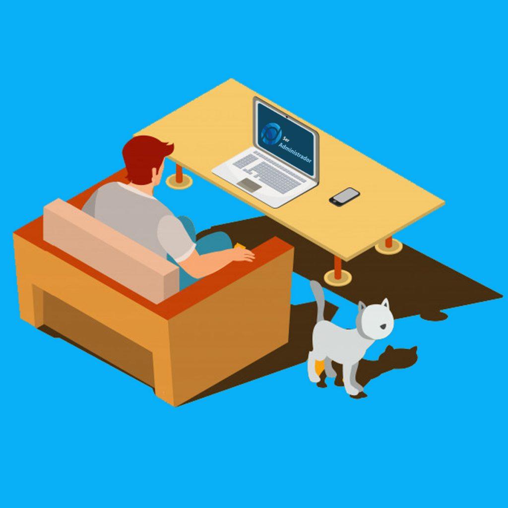 vaga administrador home office