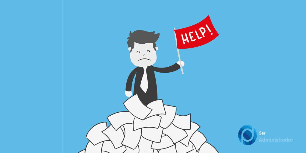 Principais falhas de estagiários e trainees de Administração.